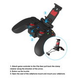 Wired Gamepad Controller for Smartphones Tablet PC With holder