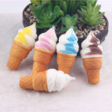 10cm Ice Cream toy Simulation Cake Slow Rising Cellphone Straps Bread Toys Phone Chain Strap Kitchen toys for children