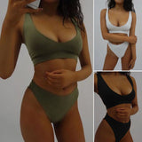 2017 New Sexy Top Brazilian Bikinis Women Swimwear Push Up Female Swimsuit Bikini Set Beachwear Bathing Suits Biquini wholesale