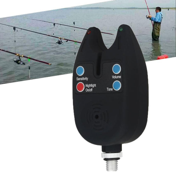 Waterproof Adjustable Tone Volume Sensitivity Sound Fish Bite Alarm Fishing Tool #YL