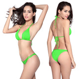 Lady Bikini Swimsuit Sexy Two Pieces Swimwear for Women Beach Swimming Pool Party