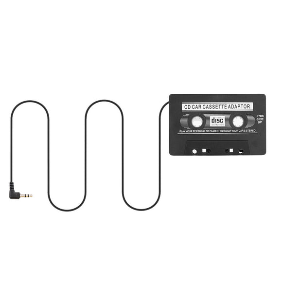 New Car Cassette Tape Adapter Cassette 3.5mm Jack Plug Mp3 Player Converter For Phone MP3 AUX Cable CD Player