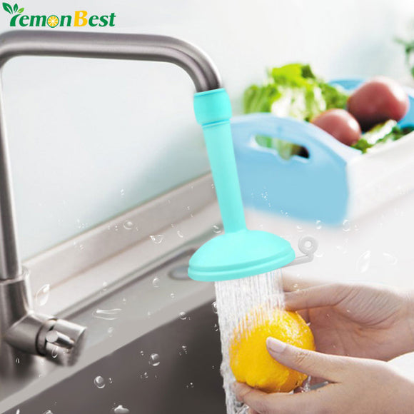 Creative Kitchen Bathroom Shower Save Water Tap Rotating Spray Adjustable Faucet Regulator Extender Spill Valve Shower Filter
