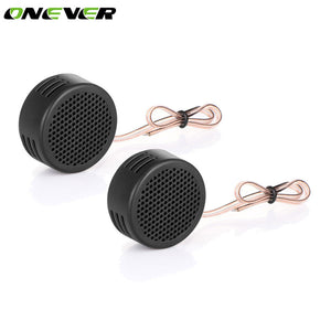 Onever 2Pcs Universal 500W Super High Car Tweeters Speaker Dome Tweeter Loudspeaker Super Power Audio Auto Sound Car Tweeters