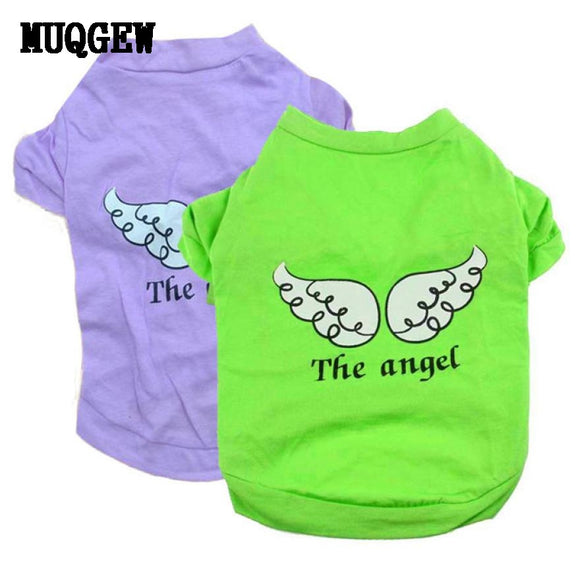 2016 dog clothing pet clothes Wear Puppy Pet Dog T-shirt Vest Wear small dog clothing Cat Wear ropa para perros chihuahua