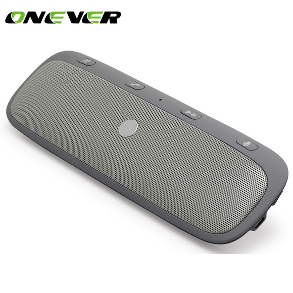 Wireless Car Bluetooth Speakerphone Handsfree Car Kit In-Car Speaker Player Support Private Talk with Car Charger for most phone