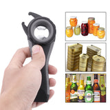 LemonBest 5 in 1 Creative Multifunction Can Opener Beer Win Bottle Opener Super Good Jar Opener Kitchen Tool Gadget Accessories