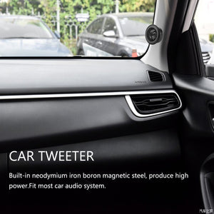 "AOZBZ Car Tweeter Super Power Loud Speaker Dome Loud Speaker Auto Sound Speaker 2"" Dia 150W High Power"