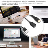 FORNORM TV Sticks HDTV/HDMI Cable For Projector 1080P Display USB HDMI Cable Mirroring Adapter For IOS 8.0 Android OS 4.4