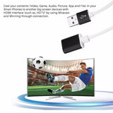 FORNORM 1080P Cast & Charger to HDMI/HDTV Cable Miracast Airplay Mirroring Adapter For IOS 8.0 Android OS 4.4 or Above