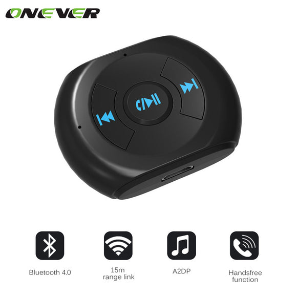 3.5mm Jack Car Auto Bluetooth 4.0 Audio Music Receiver Audio A2DP Wireless Receiver Car Kit Speaker Car Stereo for Cell Phones