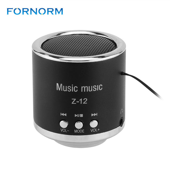 Mini Digital Speakers Portable Rechargeable Audio Haut-Parleur Radio Pour for PC Music MP3 Player USB Micro Radio Pour