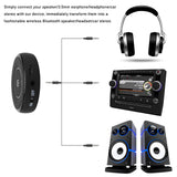 FORNORM Bluetooth 4.1 Car Kit Hands free Music Audio Receiver Adapter Auto AUX Kit for Speaker Headphone Car Stereo