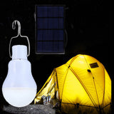 5V 15W 130LM Solar Power LED Bulb Light Garden Lamp Portable Outdoor Lamps Solar Panel Light For Fishing