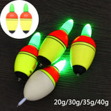 40g Fishing Float EVA Electronic Luminous Night Light Fishing Float Fishing Tackle Tools
