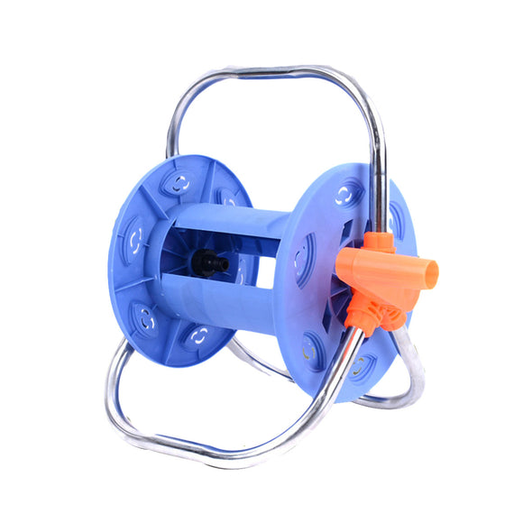 Multifunctional Garden Hose Reel for Car Wash Garden Watering Hose with Stainless Steel Handle