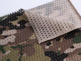 Tactical Mesh Net Camo Scarf Neck Gaiter Infinity Scarf For Wargame,Sports & Outdoor Activities