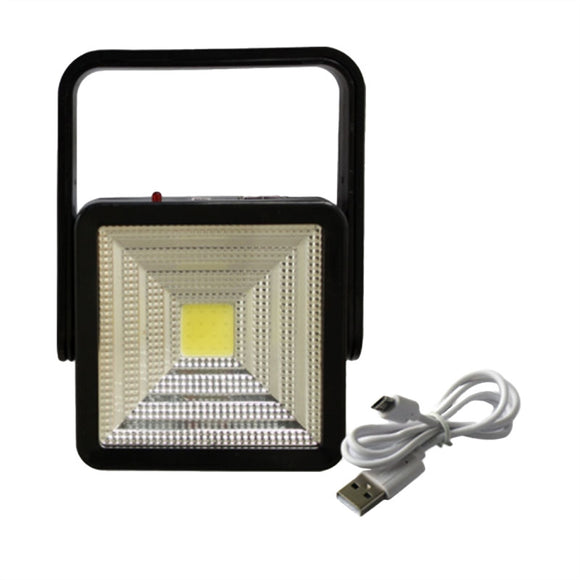 Portable Solar Camping Light Waterproof Super Bright Rechargeable Emergency Lamp with USB Charging Port for Camping Garden Pathway Street Yard Patio