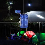 Led Camping Lantern Rechargeable Solar Ultra Bright Portable Outdoor LED Lights with Ceiling Fan for Hiking Camping Hunting Fishing Emergencies