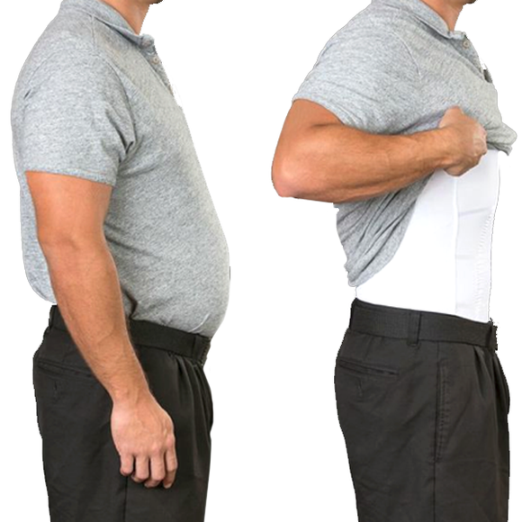 Men's Body Shaper Slimming Under-Shirt