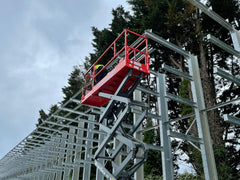 installation cantilever racking