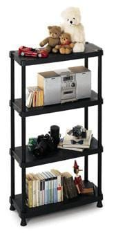 Solid Recycled Plastic Shelving 25kg/level 1230/4
