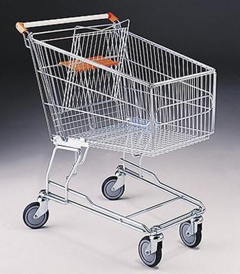 Shopping Trolley 140Ltr (set of 2)