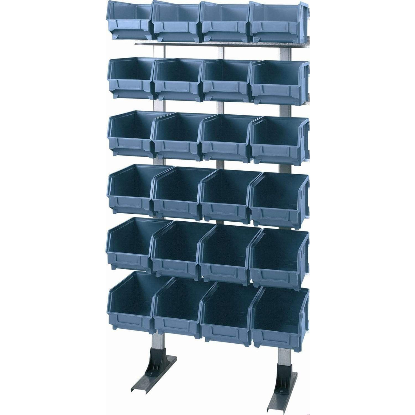 Shelf Unit with Bins