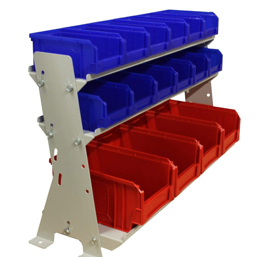 Desk Rack with 16 Parts Storage Bins (VKIT2)