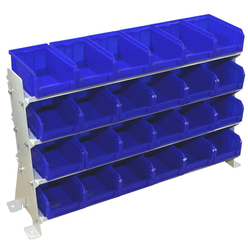 Desk Rack with Parts Storage 24 Bins (VKIT1)