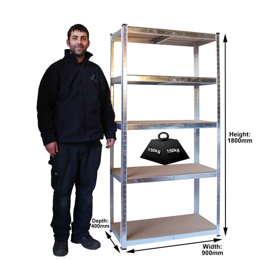 Express Shelving 150kg dimensions
