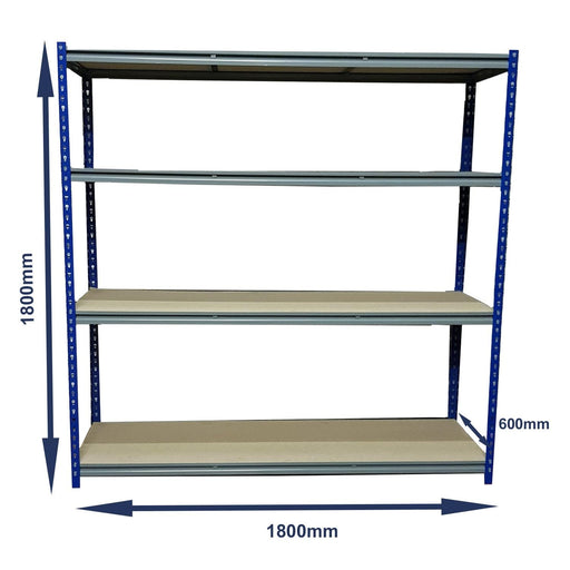 Express Bolt-less Rivet Racking (1800x600x1800mm)