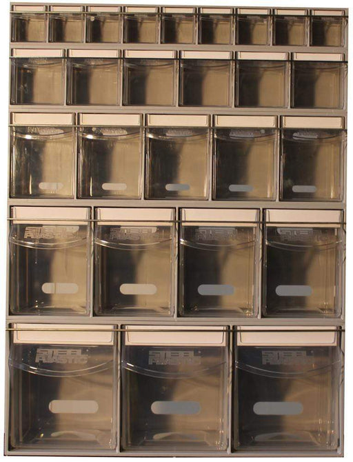 Complete Van Storage Tilt Bin Kit (27 compartments)