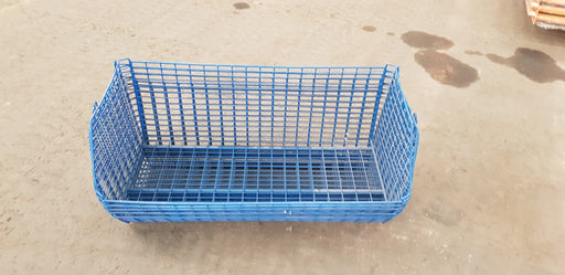 CLEARANCE: Used Wire Storage C12 Filplastic Baskets Set of 10 with dividers