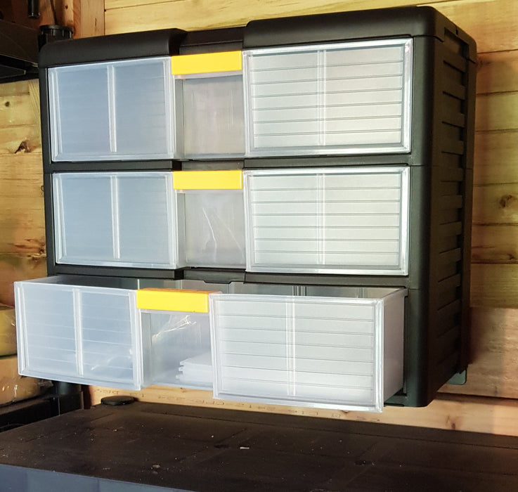 Van Storage Plastic Storage Cabinet Unit (42002)