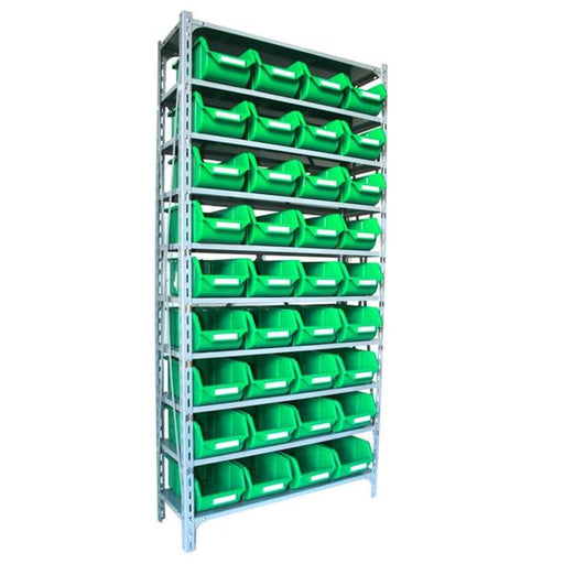Shelf Unit 36 Bins