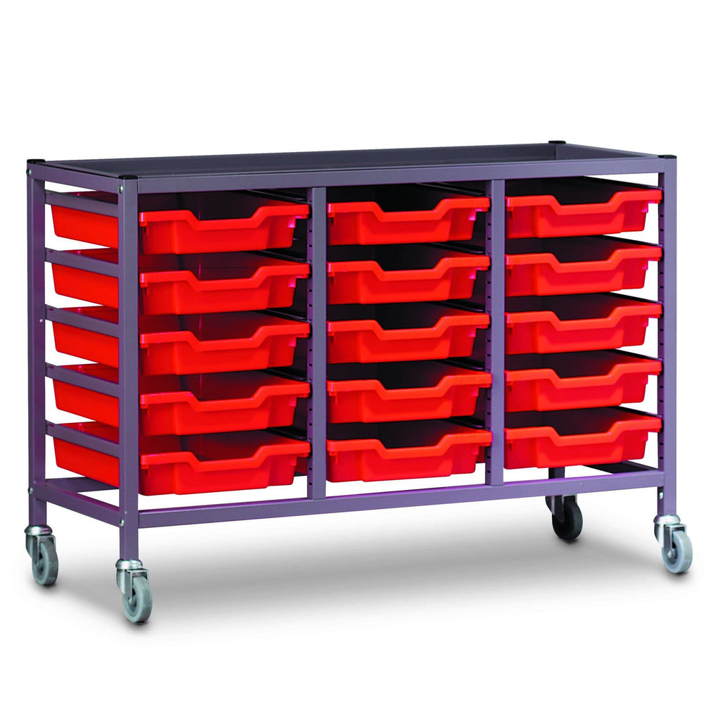 Trolley Set (With 15 x F1 Trays) 3025P