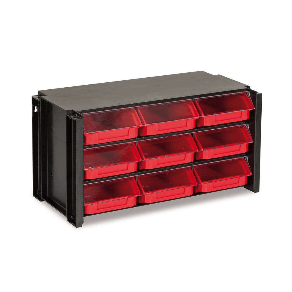 parts bin unit - 9 drawers