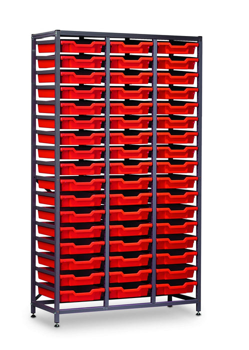 Gratnells Tall Frame F1 Set with 51 x Trays