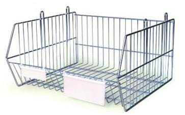 Stacking Display Basket 475mm