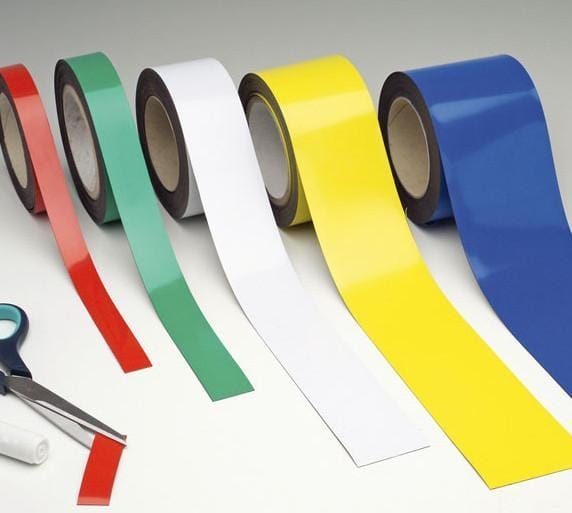 Wipe Clean Magnetic Tape (10m x 20mm)