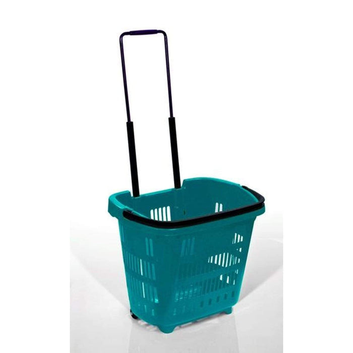 34L Trolley basket Aqua Green