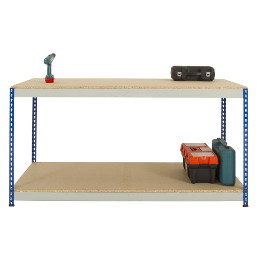 Workbench Chipboard Top Grey/Blue