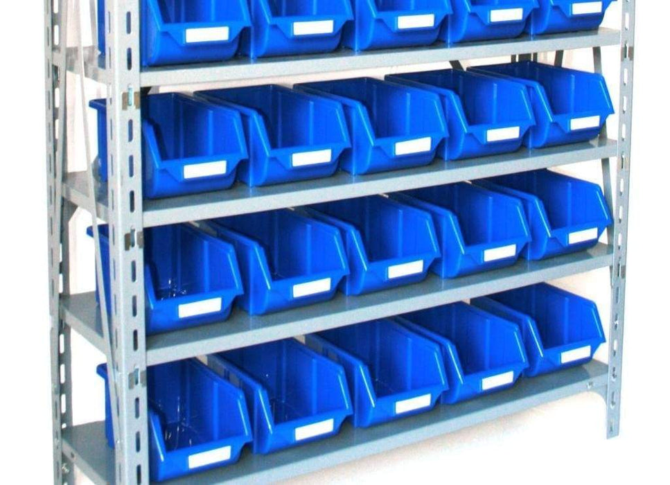 Plastic Parts Bins Blue