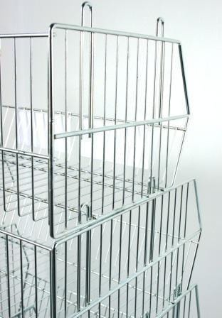 Stacking Display Basket (475x450x300mm)