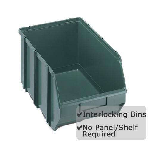 Pack of 10 x Interconnecting Union Storage Bin D
