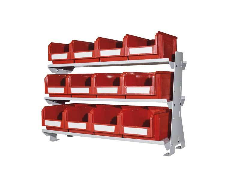Desk Rack with 12 Bins (VKIT3)