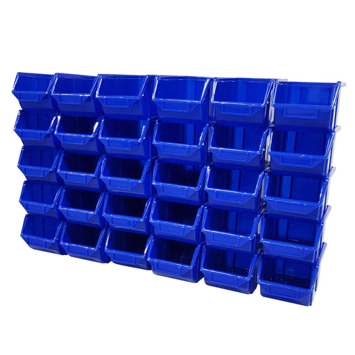 Pack of 30 x Stackable Parts Storage Bins (112)