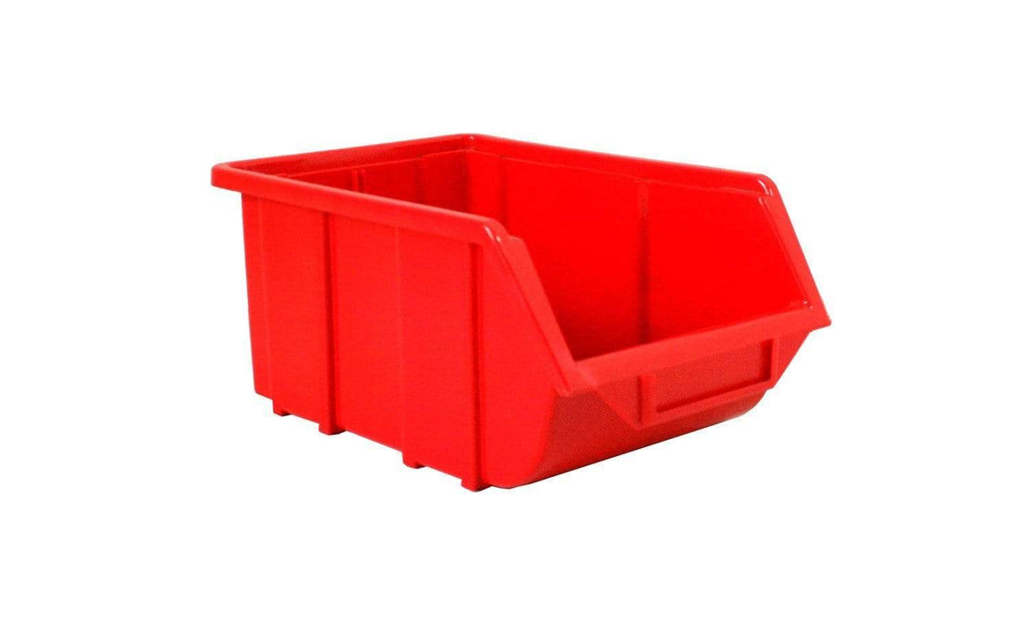 Plastic Parts Bin ECO 111 Red