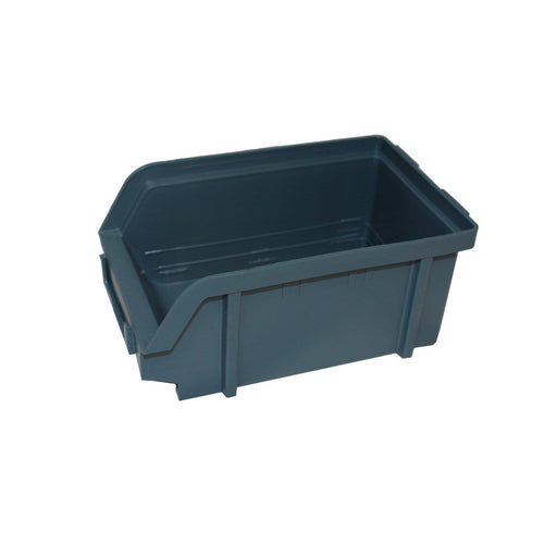 Freestanding Louvre Panel Parts Storage Bin Rack with 24 Bins